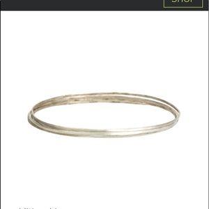 Sundance/Jane Diaz set, 3 sterling silver bangles